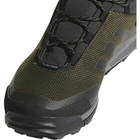 adidas TERREX Tivid ClimaProof Outdoor Mid-Shoes Herren night cargo/core black/grey four